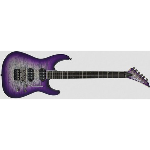 Pro Series Soloist SL2Q MAH, Ebony Fingerboard, Purple Phaze