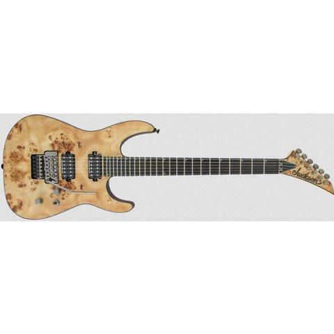 Pro Series Soloist SL2P MAH, Mahogany Body with Poplar Burl Top, Ebony Fingerboard, Desert Sand