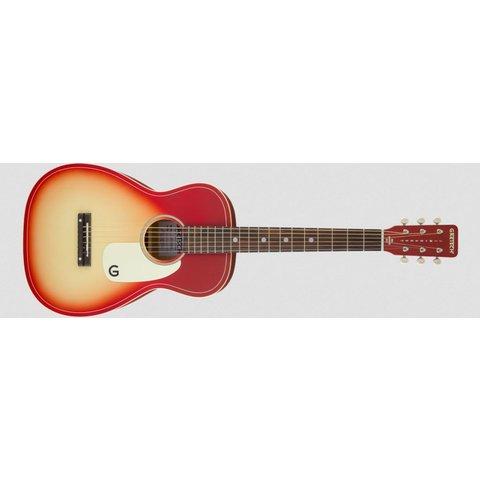 G9500 LTD Jim Dandy 24'' Scale Flat Top Guitar, Chieftain Red Burst