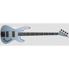 Jackson USA Signature David Ellefson Concert Bass CB IV, Ebony Fingerboard, Satin Silver