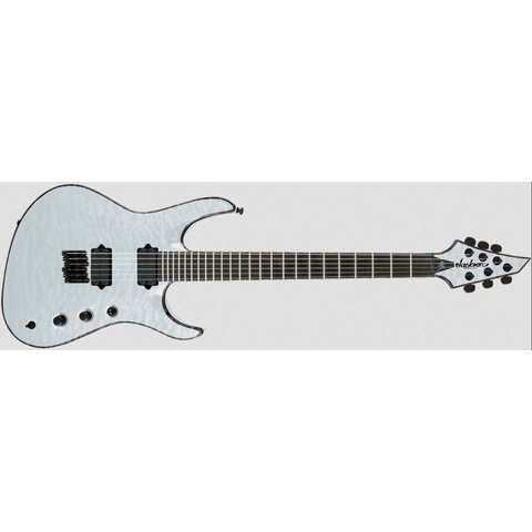 USA Signature Chris Broderick Soloist HT6, Ebony Fingerboard, Transparent White