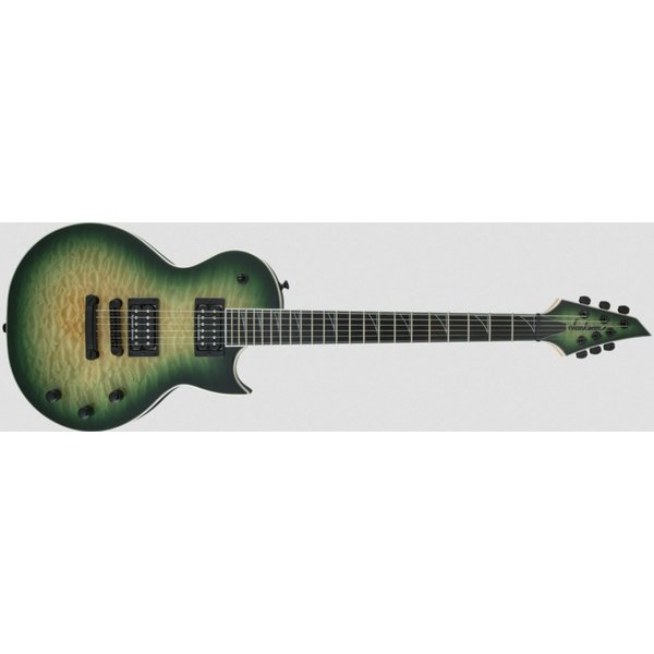 Jackson Pro Series Monarkh SCQ, Ebony Fingerboard, Quilt Maple Top, Alien Burst