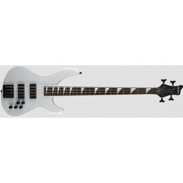 Jackson Pro Series Signature Chris Beattie Concert Bass, Ebony Fingerboard, White