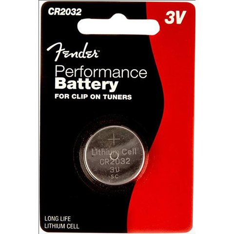 Fender Performance CR2032 Button Battery, Single