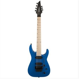 Jackson X Series Soloist SLATX-M3-7, Maple Fingerboard, Bright Blue