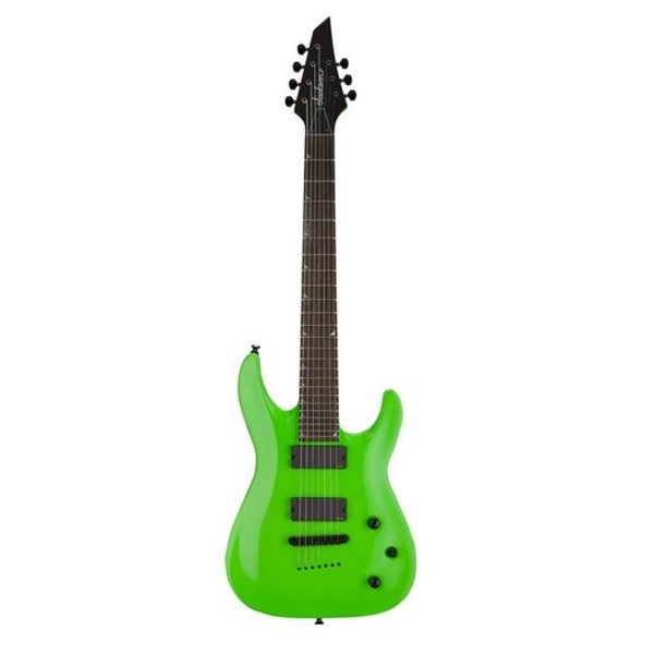Jackson X Series Soloist SLATHX-M3-7, Maple Fingerboard, Slime Green