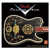 2018 Fender Custom Shop Wall Calendar