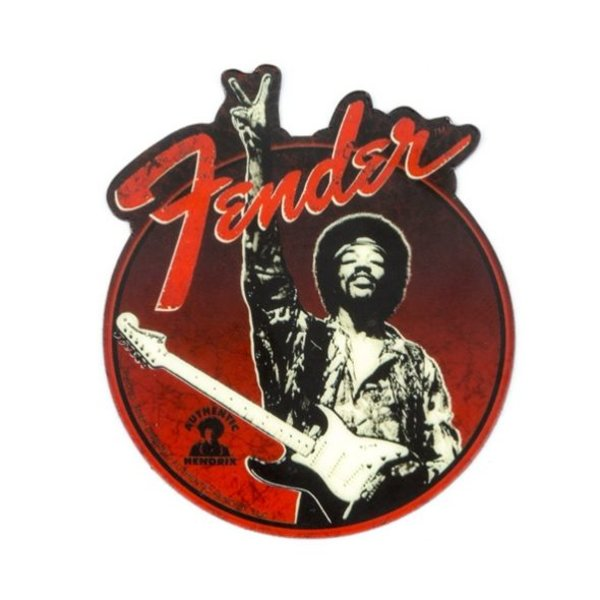 Fender Fender Jimi Hendrix Collection ''Peace Sign'' Magnet