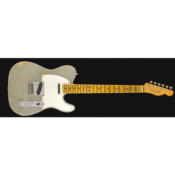 Fender Custom Shop 2018 LTD DBL ESQUIRE SPL REL - ASP/ABLK