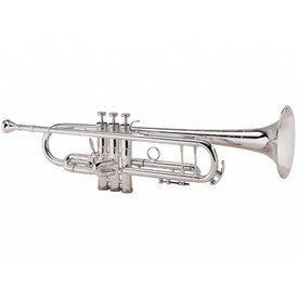 King King 2055 Silver Flair Series Bb Trumpet 2055T Silver 1st Valve Thumb Trigger