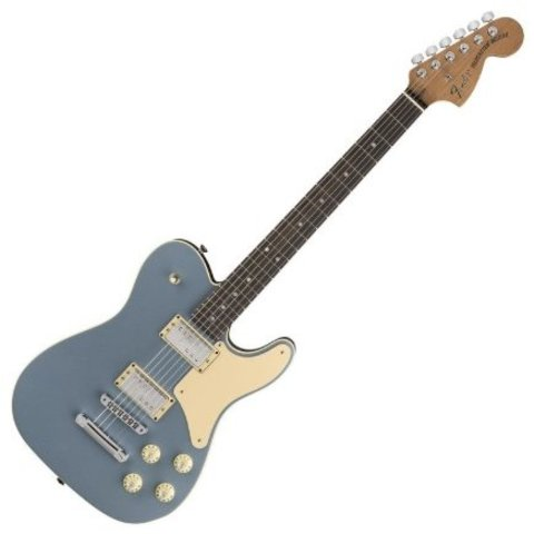 Fender Limited Edition Troublemaker Telecaster Rosewood Ice Blue Metallic SN: LE04264