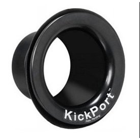 Kickport Used Kickport KP1BK Bass Drum Port, Black