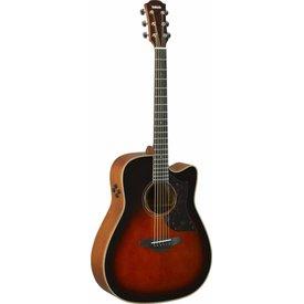 Yamaha Yamaha A3M TBS Folk Cutaway Acoustic Electic Guitar Tobacco Sunburst