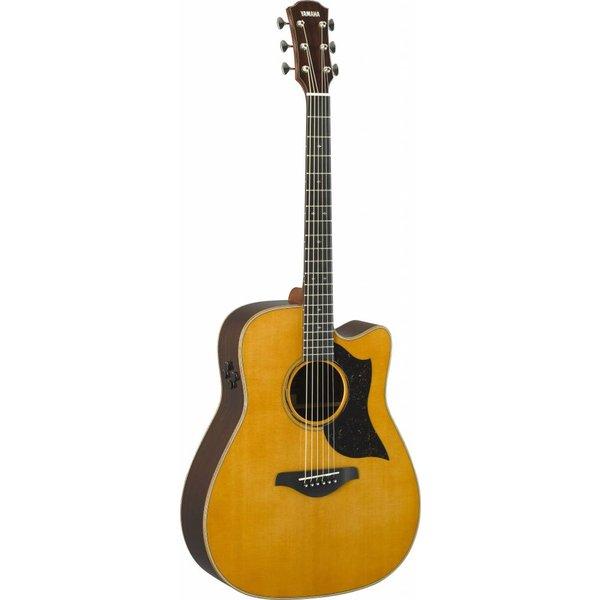Yamaha Yamaha A5R VN Folk Cutaway Acoustic Electic Guitar - Rosewood - Vintage Natural