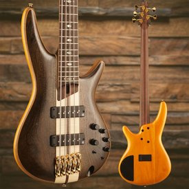 Ibanez Ibanez SR Premium 5str Electric Bass - Natural Low Gloss