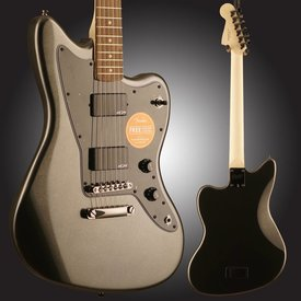 Squier Squier Contemporary Active Jazzmaster HH ST Indian Laurel Fingerboard Graphite Metallic