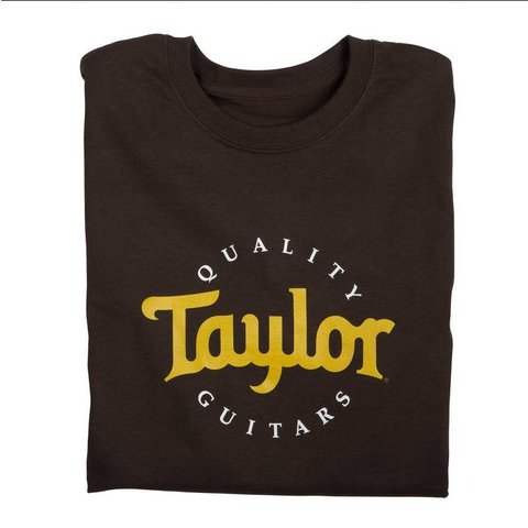Taylor Two-Color Logo Tee Sand, XL
