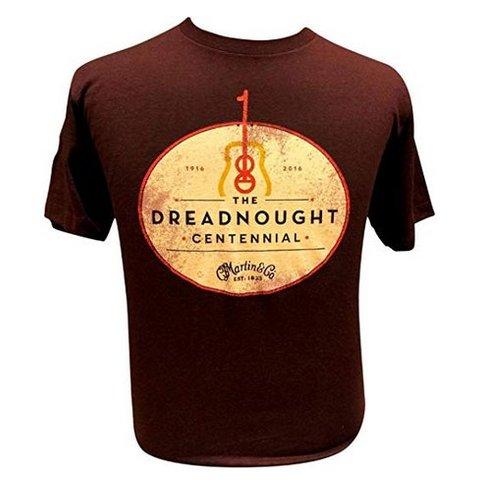 Martin 18CM0092M Dreadnought Centennial T-Shirt, Sangria, Men's M