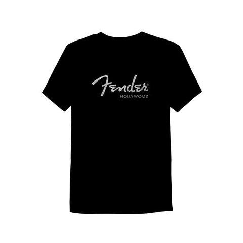 Fender Hollywood Men's T-Shirt, Black, L