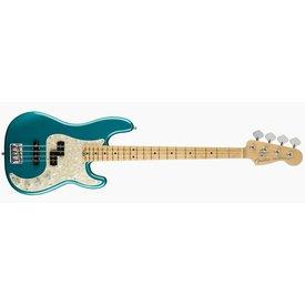 Fender American Elite Precision Bass, Maple Fingerboard, Ocean Turquoise
