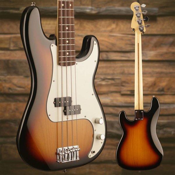 Fender Fender P Precision Bass 3 Tone Burst Rosewood Board w/ Hard Case S/N MX15614974