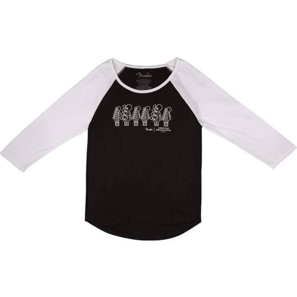 Fender American Professional Ladies T-Shirt, Black, M