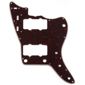 Fender Pure Vintage Pickguard, '65 Jazzmaster, 13-Hole Mount, Brown Shell, 3-Ply