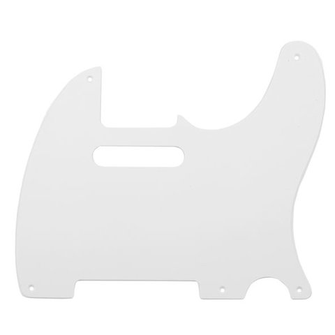 Pure Vintage Pickguard, '52/'58 Telecaster, 5-Hole Mount, Eggshell 1-Ply