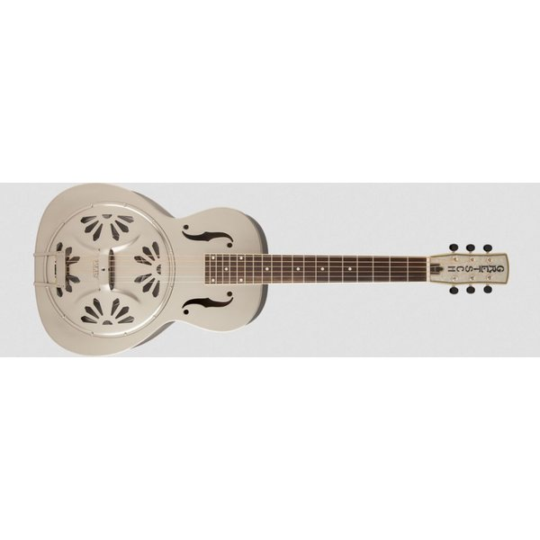 Gretsch Guitars G9231 Bobtail Steel Square-Neck A.E., Steel Body Spider Cone Resonator Guitar, Fishman Nashville Resonator Pickup