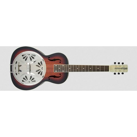 G9230 Bobtail Square-Neck A.E., Mahogany Body Spider Cone Resonator Guitar, Fishman Nashville Resonator Pickup, 2-Color Sunburst