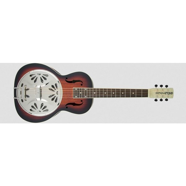 Gretsch Guitars G9230 Bobtail Square-Neck A.E., Mahogany Body Spider Cone Resonator Guitar, Fishman Nashville Resonator Pickup, 2-Color Sunburst