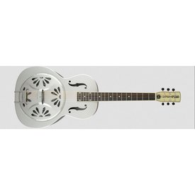 Gretsch Guitars G9221 Bobtail Steel Round-Neck A.E., Steel Body Spider Cone Resonator Guitar, Fishman Nashville Resonator Pickup