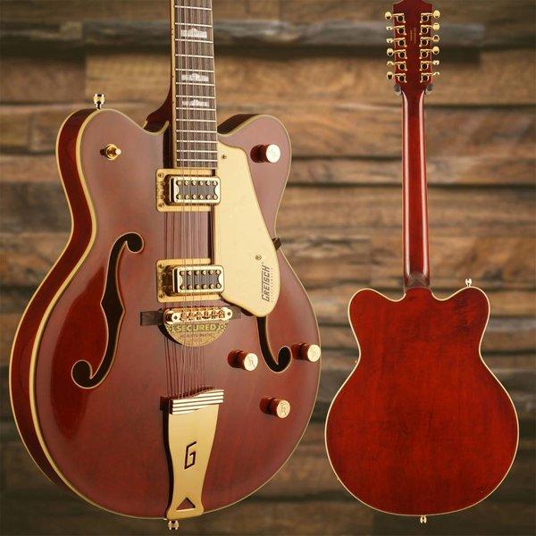 Gretsch Guitars Gretsch G5422G-12 Electromatic Hollow Dbl-Cut 12-String w Gold Hw, Walnut Stain