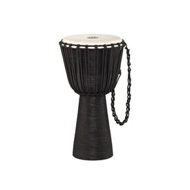Meinl Meinl Percussion Rope Tuned Headliner Series Wood Djembe Black River Series XL