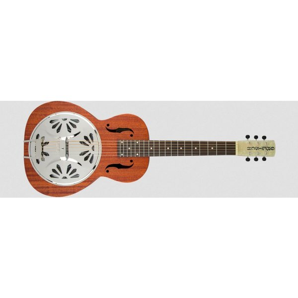 Gretsch Guitars G9210 Boxcar Square-Neck, Mahogany Body Resonator Guitar, Natural