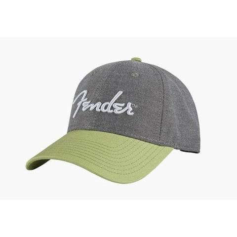 Fender California Series Chambray Logo Hat, One Size Fits Most