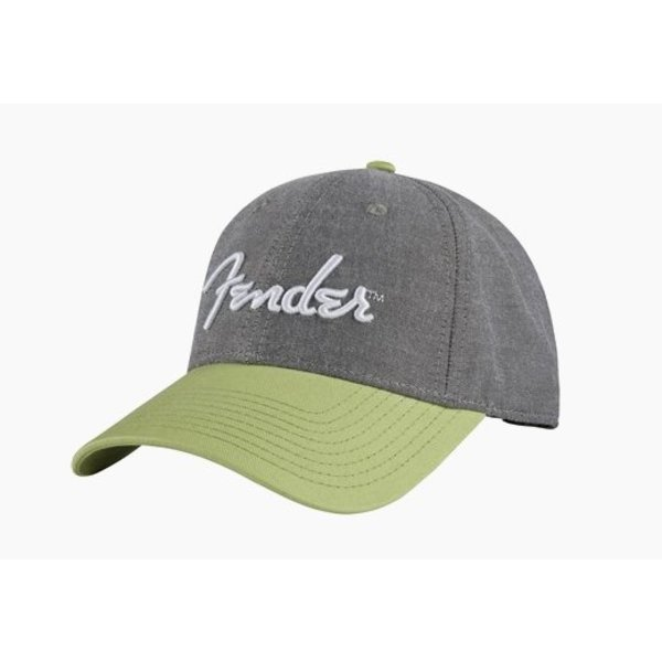 Fender Fender California Series Chambray Logo Hat, One Size Fits Most