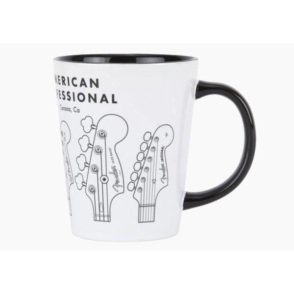Fender American Professional Latte Mug, Black