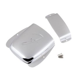 Fender Pure Vintage Jazz Bass Ashtray Cover Set, Steel/Chrome