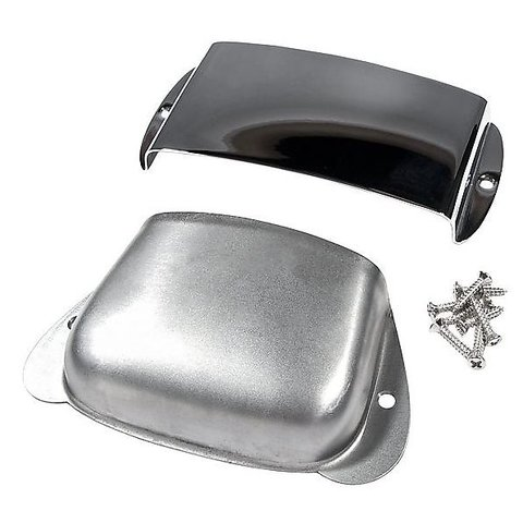 Pure Vintage Precision Bass Ashtray Cover Set, Steel/Chrome