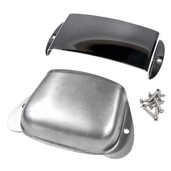 Fender Pure Vintage Precision Bass Ashtray Cover Set, Steel/Chrome