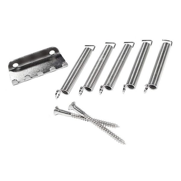 Fender Pure Vintage Stratocaster Tremolo Spring/Claw Kit, Nickel