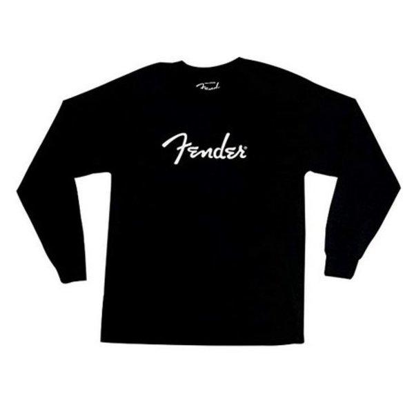 Fender Fender Long-Sleeve Logo T-Shirt, Black, M