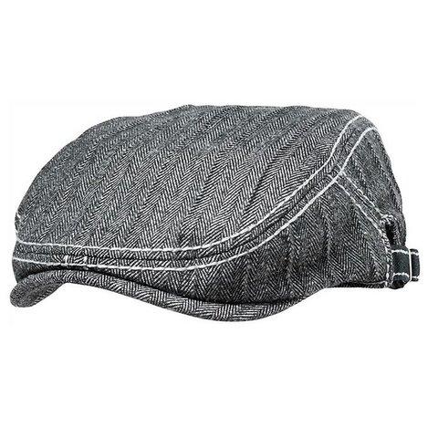 Fender Driver's Cap, Grey/Black Houndstooth, L/XL