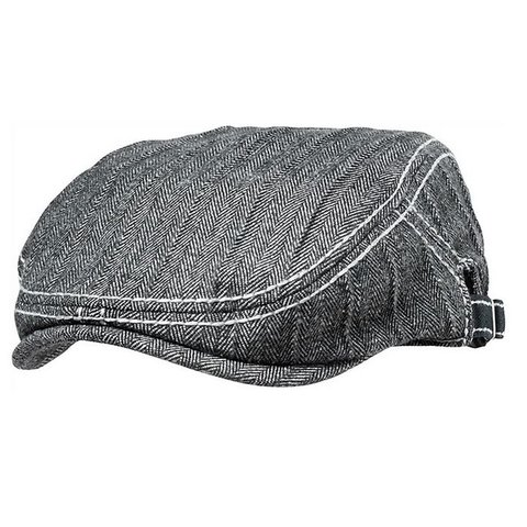 Fender Driver's Cap, Gray/Black Houndstooth, S/M