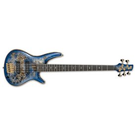 Ibanez Ibanez SR Premium 5str Electric Bass - Cerulean Blue Burst