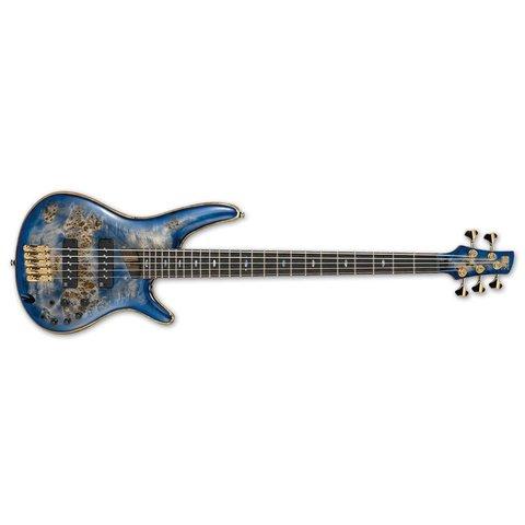 Ibanez SR Premium 5str Electric Bass - Cerulean Blue Burst