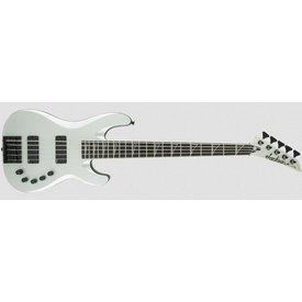 Jackson USA Signature David Ellefson Concert Bass CB V, Ebony Fingerboard, Satin Silver