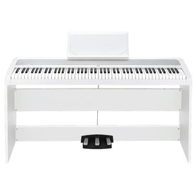 Korg Korg B1SPWH Home Piano w/ Stand and Pedal