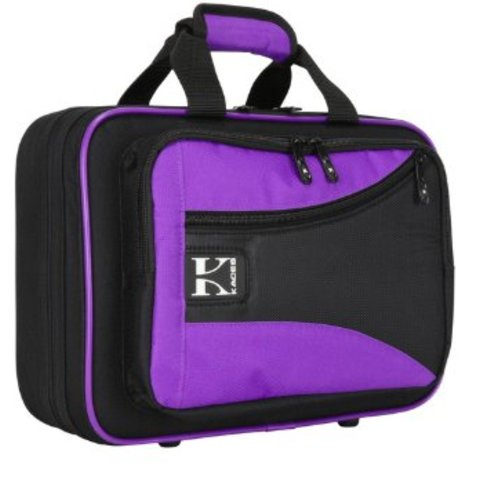 Kaces Lightweight Hardshell Clarinet Case Purple